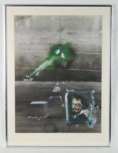 MCM Velasquez & Roman Memoirs Surrealist Painting Rafael Mahdavi French Mexican