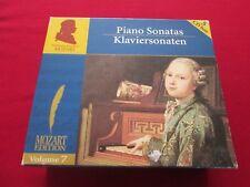 Mozart Edition, Vol. 7 (2006) PIANO SONATAS 5 CD BOX KLAVIERSONATEN