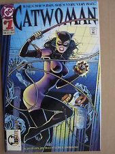 1993 DC COMICS CATWOMAN #1 JIM BALENT EMBOSSED COVER BANE APPEARANCE