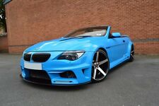 BMW M6 CLR 600 WIDE 645 V8 CUSTOM CONVERSION IN EXCLUSIVE BLUE PAINT REPLICA