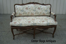 60560 Quality French Country Louis Xv Settee Loveseat Sofa Chair