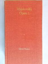 Opere 1 poesie 1912-1923Majakovskij vladimirriuniti1980 Ambrogio rilegato 800