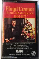 Floyd Cramer Piano Masterpieces 1900-1975 cassette sealed folk country pop