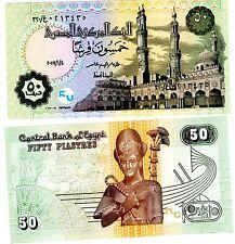 Egypt Egypte Billet 50 PIASTRES 2017 P62 Ramses TUTANKHAMEN NEUF UNC