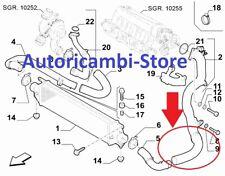 S1434 MANICOTTO INTERCOOLER COLLETTORE ASPIRAZIONE FIAT BRAVO LANCIA DELTA