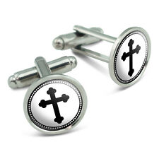 Orthodox Cross Men's Cufflinks Cuff Links Set