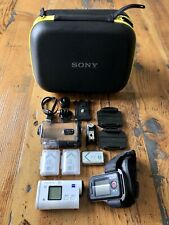 Sony HDR-AS200VR/W Action Cam + Live View Remote Kit + Sony Protective Case
