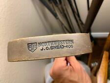 Vintage Northwestern J.C. Snead Collectible Bronze Head Putter Rare Hard To Find