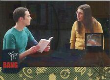 Big Bang Theory Seasons 6 & 7 Silver Parallel Base Card #56 Comedy Studies