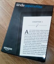 Amazon Kindle Paperwhite in OVP, mit 126 Büchern, 7. Generation, 4 GB