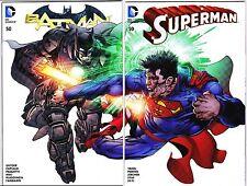 DC-New 52-Superman 50-Batman 50-Connecting Neal Adams Variants