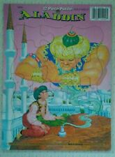 "Puzzle-Vintage Aladdin 12 Piece Frame-Tray Puzzle - Ages 3 & Up - 8""x10"" *NEW*."