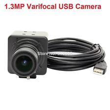 No Driver 1.3MP CMOS AR0130 Low Light USB Camera Webcam 2.8-12mm Varifocal Lens