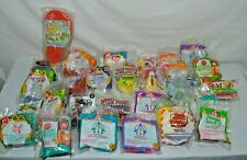 Mix Lot of 28 Vintage McDonalds & other Fast Food Happy Meal Toys Unopened