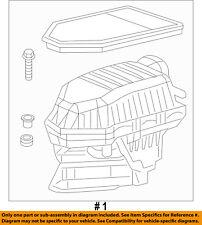 CHRYSLER OEM Air Cleaner Intake-Filter Box Housing 4861743AD