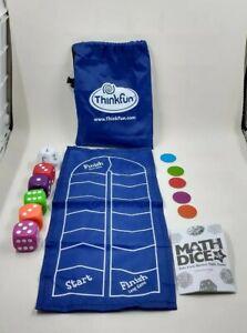 Thinkfun Math Dice Jr. Game Kid's First Mental Math Game Homeschool Educational