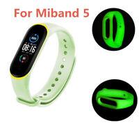 Für XIAOMI MI Band 5 Luminous Armband Silikon Wristband Ersatz Uhrenarmband
