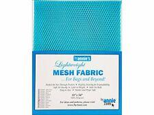 Annie Lightweight 18x54 Parrot Blue Mesh Fabric Ltwt 18x54ParrotBl, 54 Inches
