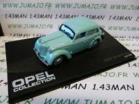 OPE97R voiture 1/43 IXO eagle moss OPEL collection : KADETT K38 1937/1940