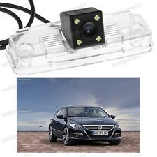 CCD Reverse Camera Rear View Parking Number Plate Light For VW Passat CC 2009