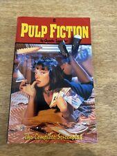 Pulp Fiction Complete Screenplay Quentin Tarantino 1996 Ltd Ed Paperback Book