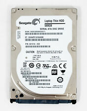 "Seagate Momentus ST500LT012 500 GB 5400RPM 2.5"" SATA Laptop Hard Drive Thin 7mm"