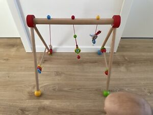 Spielbogen Baby aus Holz