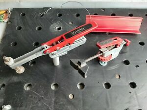 Craftsman Adjustable  Peg Table Clamps with Fence