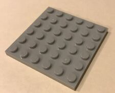 LEGO Bricks Plate 6x6 Light Gray NEW