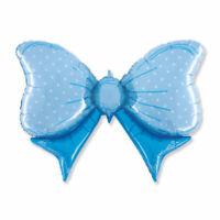 Palloncino alluminio nascita fiocco azzurro