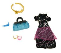 Monster High Abbey Bominable Dress And Accessories Lot