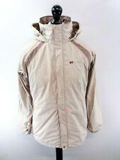 BERGHAUS Womens Jacket Coat 14 Beige Nylon Hooded