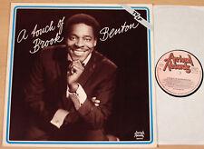 BROOK BENTON - A Touch Of Brook Benton  (ARRIVAL, D 1982 / LP m-)