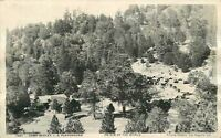 1921 Camp Seeley San Bernardino California Crestline Putnam RPPC postcard 4681