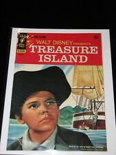 1955 Gold Key Classic TREASURE ISLAND 12 Cents Condition Page Bend, Bumps Cover