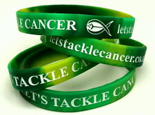 Let's Tackle Cancer Charity Wristbands (x2) - Cancer Research UK