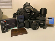 Sony Alpha A6300 Mirrorless Digital Camera Bundle w/ 16-50mm + 55-210mm Lens