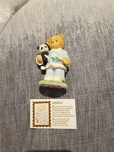 Cherished Teddy - Lian China - Our Friendship Spans Many Miles