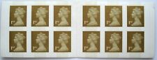 More details for 12 x 1st class stamps machin forgeries booklet, mnh forgery fake with varnish