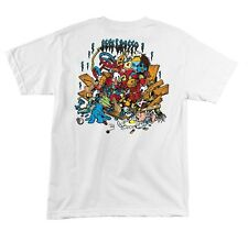 Santa Cruz Jeff Grosso TOYBOX LIMITED EDITION Skateboard Shirt WHITE XXL