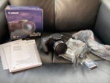 Canon Powershot SX430 IS 20MP 45x zoom schermo 3 POLLICI WIFI FOTOCAMERA BRIDGE-Nero