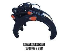 EXCAVATOR GRAB(BBB) BETTA BILT BUCKETS 8 TONNE HYDRAULIC GRAB  CALL 1300 699 888