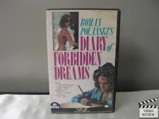 Diary Of Forbidden Dreams Large VHS Roman Polanski Marcello Mastroianni