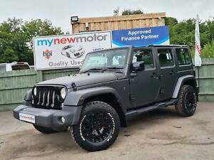 2014 JEEP WRANGLER 2.8CRD AUTO KAHN EDITION SLATE GREY QUILTED LEATHER MUST SEE!