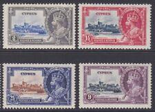 Cyprus GV MINT 1935 Silver Jubilee set sg144-147 MNH