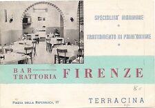 P2447     Latina  TERRACINA    Bar Trattoria Firenze