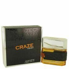 CRAZE FOR MEN BY ARMAF 3.4 O.Z EDP SPRAY *MEN'S COLOGNE* NEW IN BOX