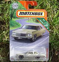 GOLD  '75 Chevy Caprice. 2019 MBX Road Trip. 6/100 FYP27. New in Package!