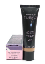 MARY KAY TIMEWISE MATTE 3D FOUNDATION~BEIGE W 180!