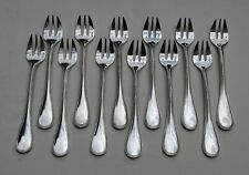 CHRISTOFLE PERLES 12 FOURCHETTES A HUITRE METAL ARGENTE 2/2 - Silverplate Oyster